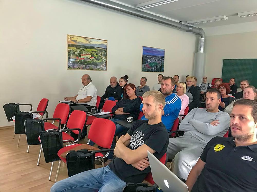 Sudionici seminara  IHF-a