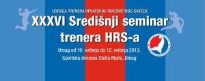 XXXVII Središnji seminar za trenere HRS-a