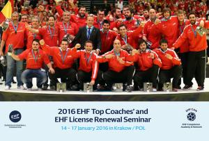 Seminar za trenere u Krakovu (Poljska) od 14. do 17. siječnja 2016.
