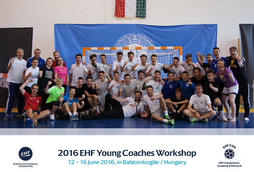 EHF radionica za mlade trenere od 12. – 16. lipnja 2016. u Balatonboglar – Mađarska