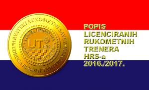 Popis licenciranih trenera Udruge trenera HRS-a