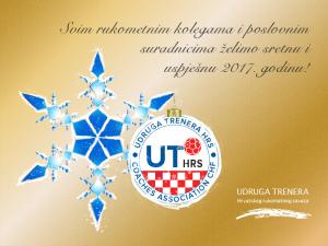 Svim rukometnim kolegama i poslovnim suradnicima želimo sretnu i uspješnu 2017. godinu!