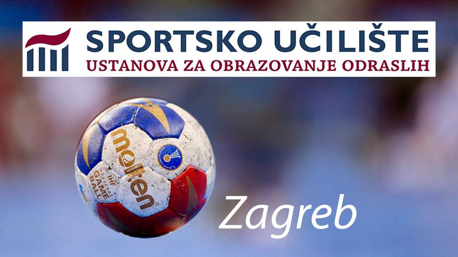 Poziv za upis u program osposobljavanja za poslove trenara/ice rukometa – Zagreb