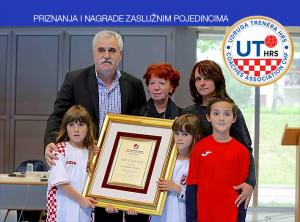 Odluka Upravnog odbora Udruge trenera HRS-a  za dodjelu  priznanja i zahvala za u 2016. godini
