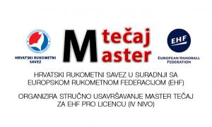 HRS u suradnji sa EHF-om organizira stručno usavršavanje – Master tečaj za EHF PRO licencu (IV NIVO)