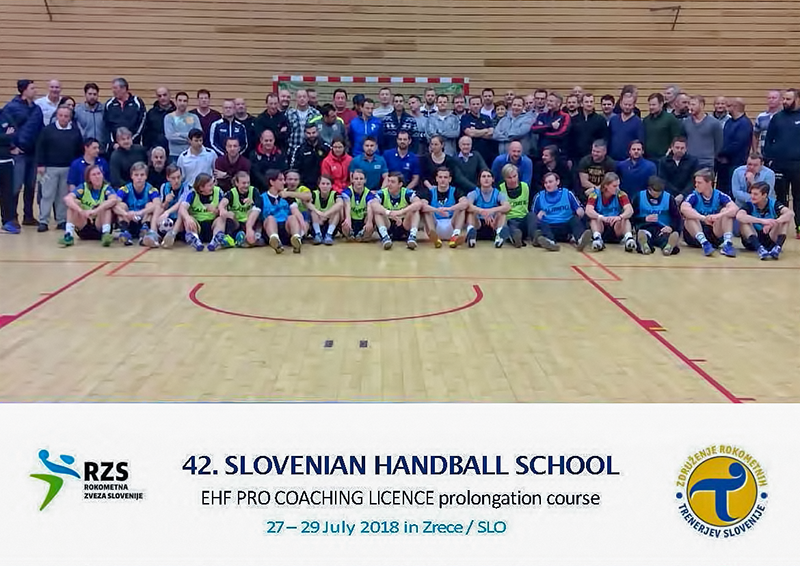 Slovenski rukometni savez organizira EHF PRO tečaj za produljenje Master licence (27. – 29. 7. 2018.)