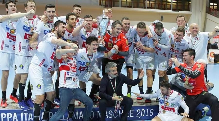 Boris Dvoršek i SSV Bozen Handball osvajači su kupa Italije
