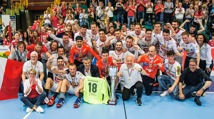Boris Dvoršek osvojio kup i prvenstvo Italije sa svojim klubom SSV Bozen