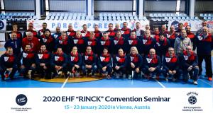 """2020. u siječnju EHF organizira """"RINCK"""" Convention  Master tečaj u Austriji"""