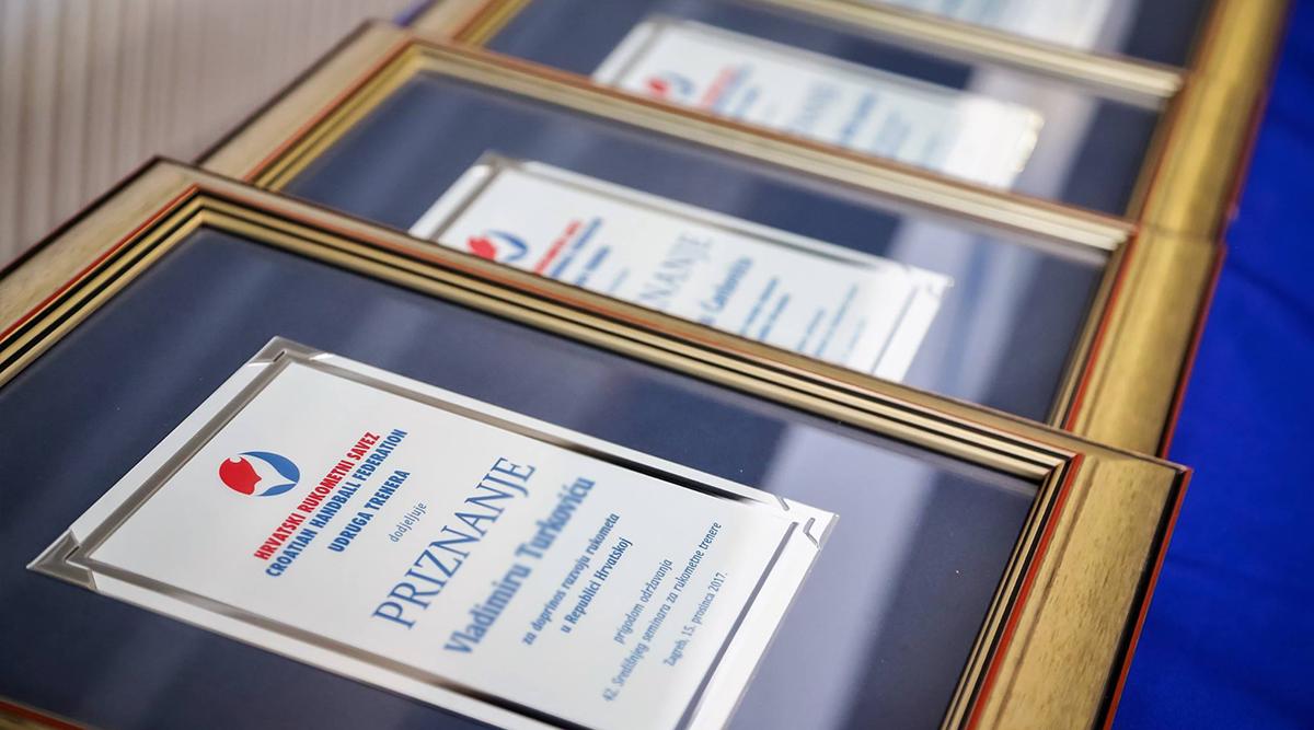 Udruga trenera nagrađuje svoje najuspješnije članove za 2019. i 2020. godinu