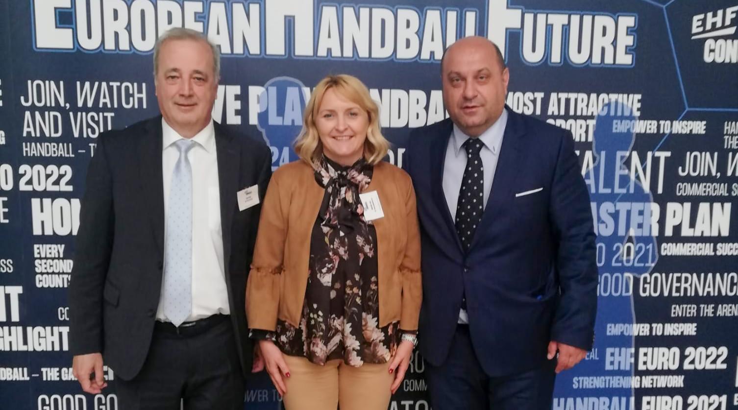 Trenutno pregledavate Kongres EHF-a: Dvije Hrvatice izabrane na dvije sjajne pozicije u EHF-u