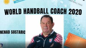 NENAD ŠOŠTARIĆ svjetski je rukometni trener u ženskom rukometu 2020. godine.