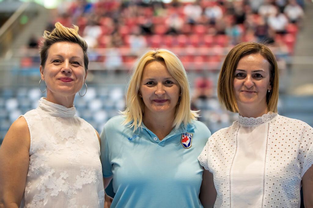 Ines Kaštelan, Lidija Bojić-Ćaćić i Ivana Teklić